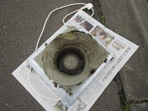 換気システムのお掃除