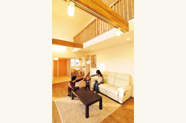 厳しい寒さから家族を守る 暖かい高性能住宅
