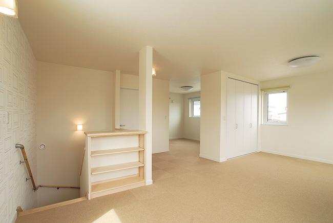 高性能住宅で光熱費も抑えられ  冬でもほんわかと心地よく