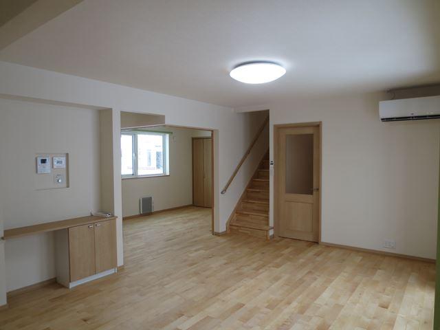 エアコン暖房、エコキュートのオール電化でペットと暮らすお家