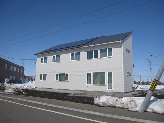 太陽光発電、2x6に付加断熱、熱交換換気、基礎断熱