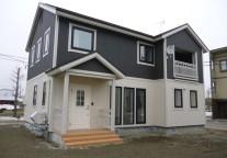 2x6に付加断熱2x4、230㍉のGWの高性能住宅、エアコン暖房と熱交換換気も設置