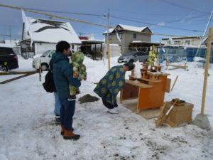 真冬の現場風景シリーズ2(今更??)