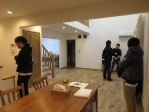 2月15日完成現場見学会 in音更町